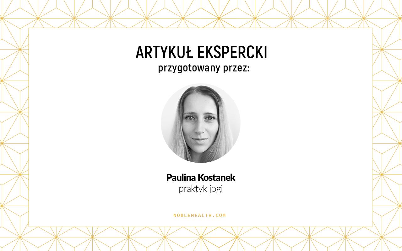 Nauczyciel Jogi Paulina Kostanek