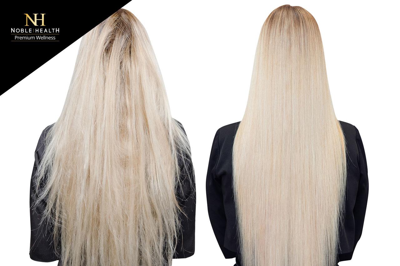 polerowanie włosów