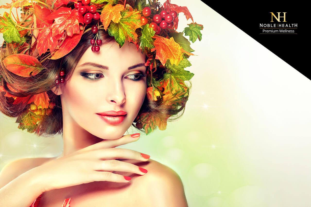 paznokcie włosy jesień