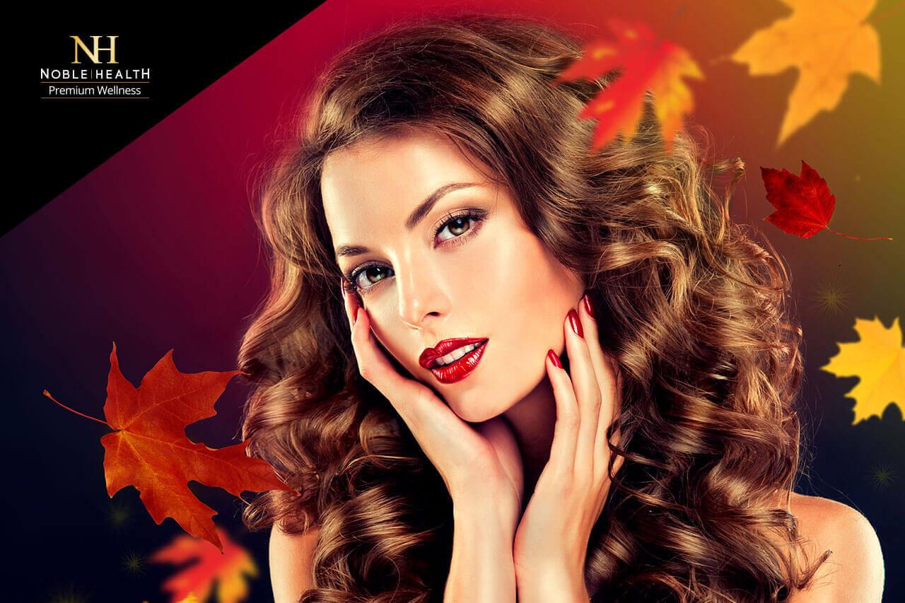 włosy paznokcie jesień