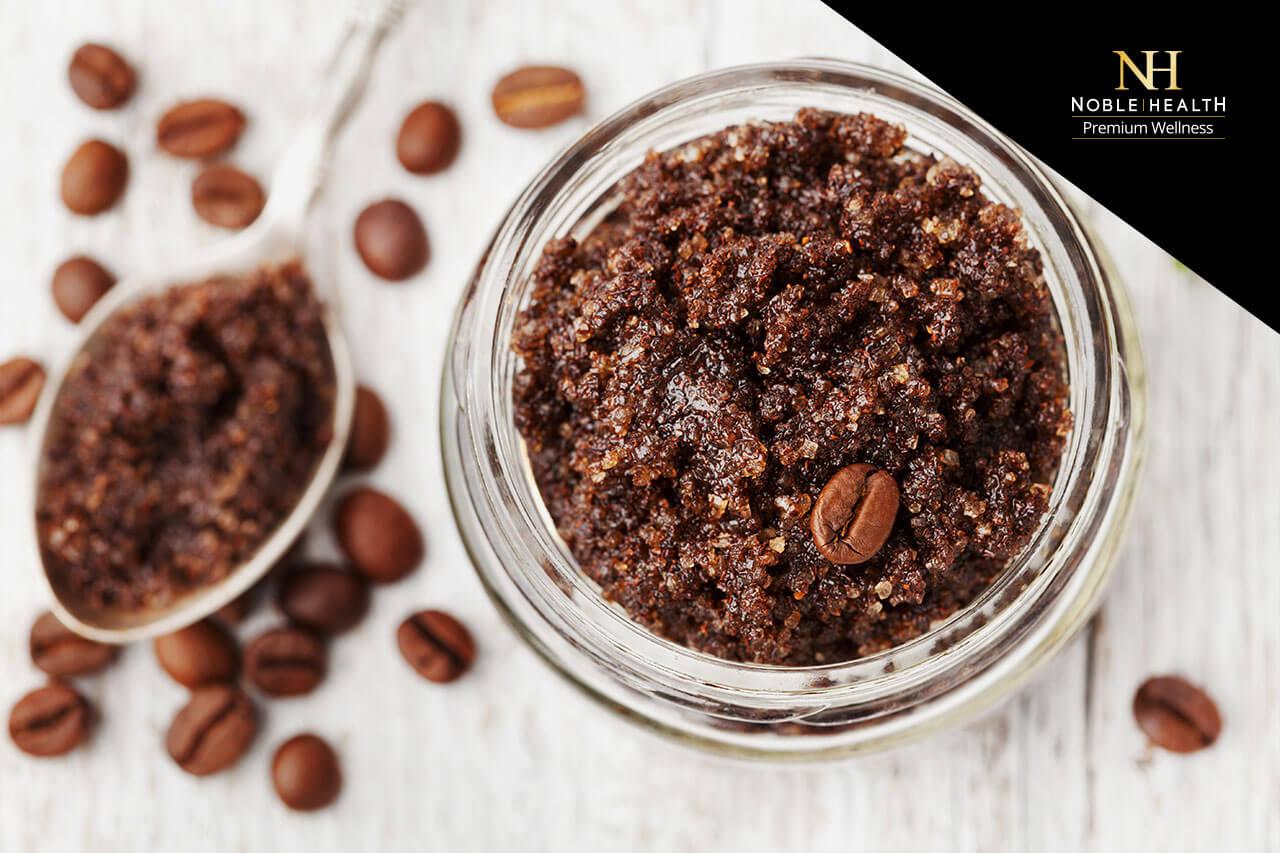 jak zrobić peeling kawowy